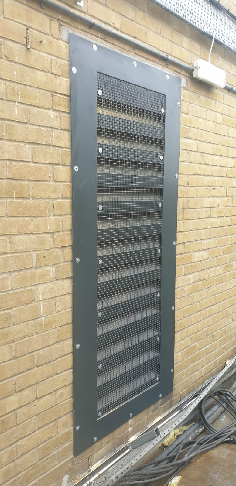 Acoustic Louvres for the Plantroom