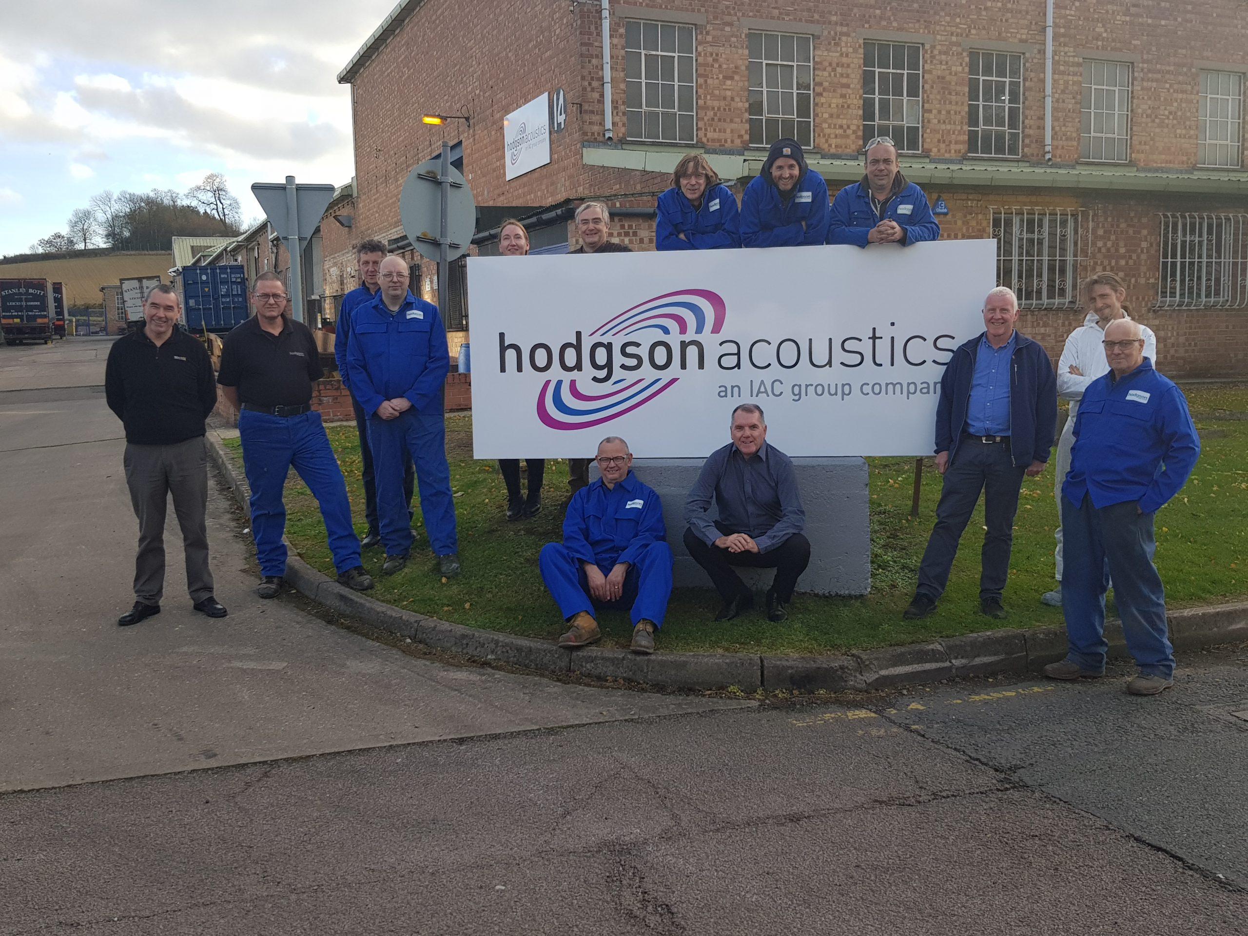 IAC Acoustics HAC Acoustics team